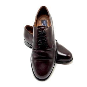 BOSTONIAN First Flex Men Sz 10M Cap Toe Derby Shoe